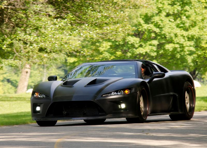 Falcon Motor Sports The American Super Car Falcon F7