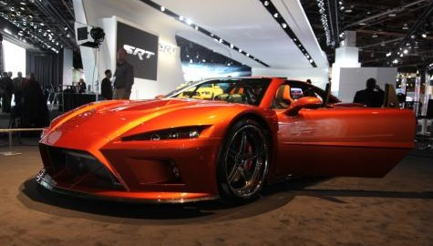 Falcon F7, one of the hottest cars at the Det
