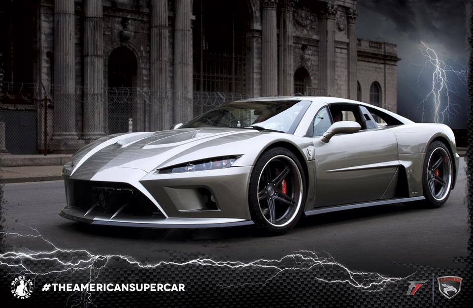 Falcon Motor Sports | The American Super Car | Falcon F7 ...